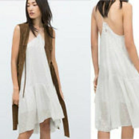 fdf9268f792e Zara Dresses | Studio Mulberry Flowy Halter Top Dress | Poshmark